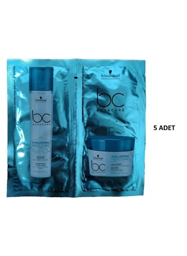 Bonacure Hyaluronic Nem Yükleme Şampuan 12 Ml- Maske 12 Ml 5 Adet Renksiz